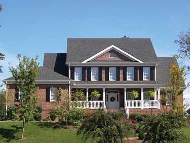 Luxurydreamhomedesignsgeorgian1 for Dream home house plans
