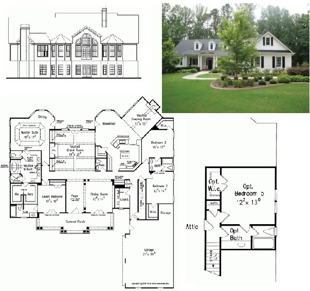 house designs colonial architecture