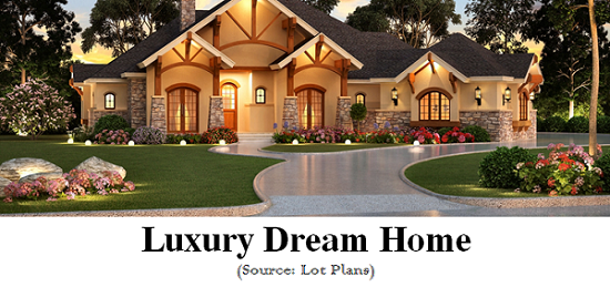 Luxury Dream Home Designs And House Plans