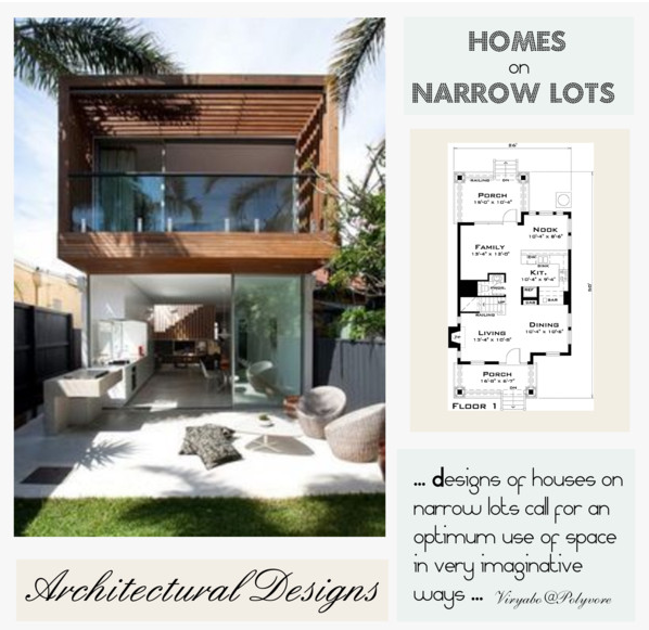 Modern House Design On Small Site Witin A Tight Budget: Affordable House Plans For Narrow Lots