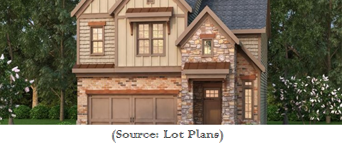 Small homes built on less than 50ft wide lots for Home design 50 foot lot